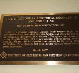 Reconocimiento a Torres Quevedo por el IEE
