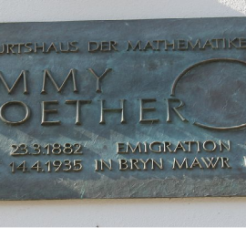 Placa de Emmy Noether