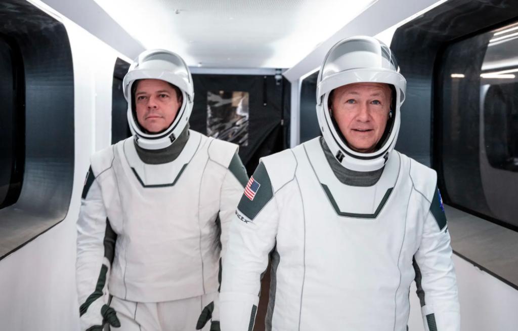 nuevos trajes espaciales made in USA